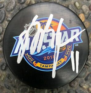 New Jersey Devils BRIAN BOYLE Signed Autographed 2018 All-Star Game ... b7f2523db