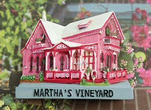 Martha-039-s-vineyard-Massachusetts-USA-Reiseandenken-3D-Kuehlschrankmagnete-Magnet