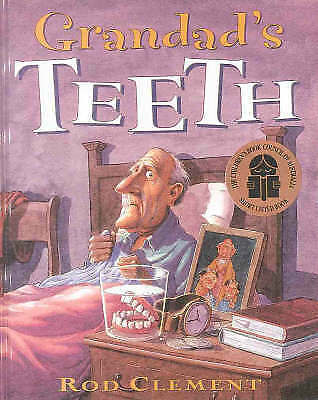 1 of 1 - Grandad's Teeth by Rod Clement Paperback Book