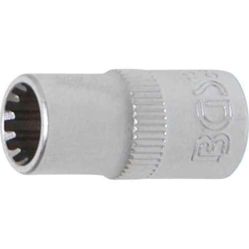 "1//4/"" BGS 10107 clé à douille GEAR LOCK6,3 mm SW 7 mm"