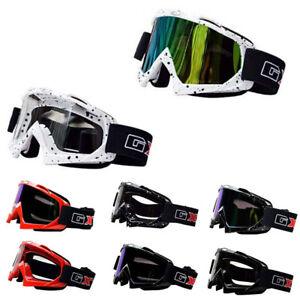 Motocross-Brille-MOTORRAD-SCHUTZBRILLEN-ATV-Dirt-Skifahren-Schutzbrille-LINSE