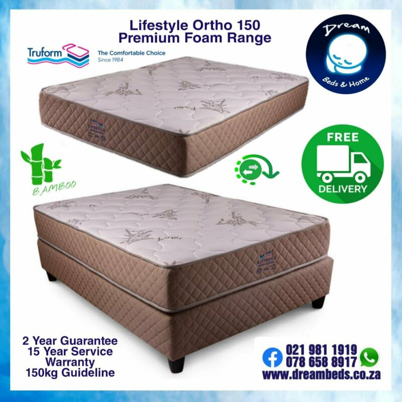 TRUFORM MATTRESS or BED for 150 kg, 125 kg and 95 kg Sleeper - Brand New with FREE DELIVERY