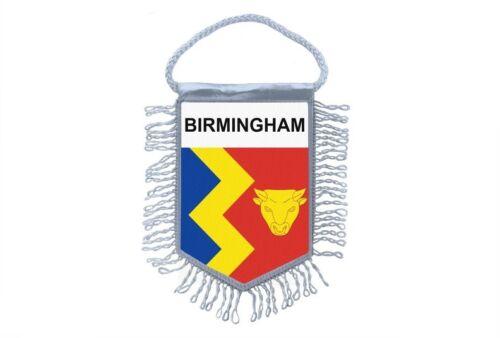 club flag mini country car decoration souvenir coat of arms english birmingham