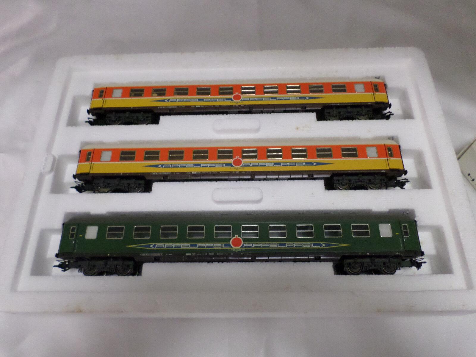 Marklin 42997 Ho Apfelpfeil  tren expreso de pasajeros Car Set