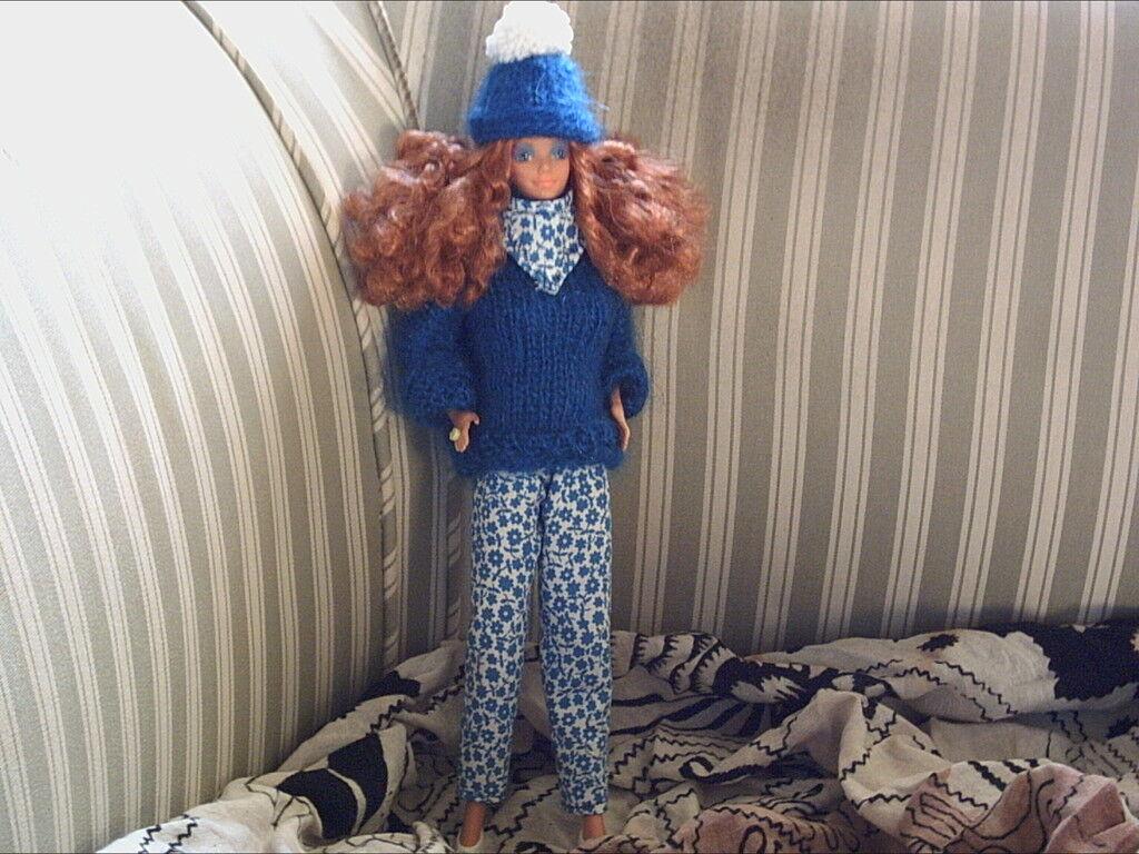 Edel Barbie  Design by  Eva Habermann  única look  hermoso  pelo rojo
