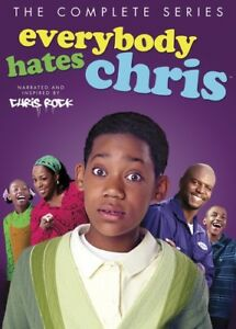 Everybody-Hates-Chris-The-Complete-Series-New-DVD-Oversize-Item-Spilt-Box