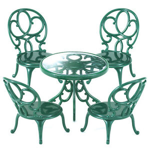 Image Is Loading Sylvanian Families Ornate Garden Table Amp Chairs Dolls