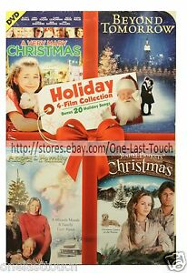 HOLIDAY-4-in-1-Collector-039-s-Set-DVD-MOVIE-Beyond-Tomorrow-Mary-Christmas-MORE-1a
