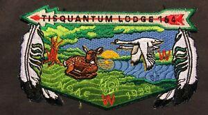 TISQUANTUM-OA-LODGE-164-BSA-OLD-COLONY-COUNCIL-MA-NOAC-1998-DEER-GEESE-FLAP-COOL