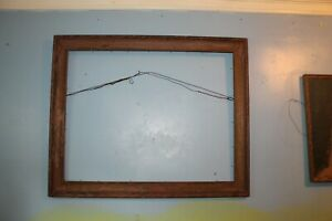 """Antique Wood Picture Frame 25"""" x 32"""""""