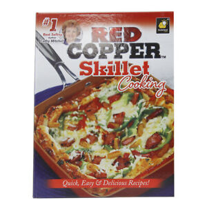 As-Seen-On-TV-Red-Copper-Skillet-Cooking-Quick-Delicious-Recipes