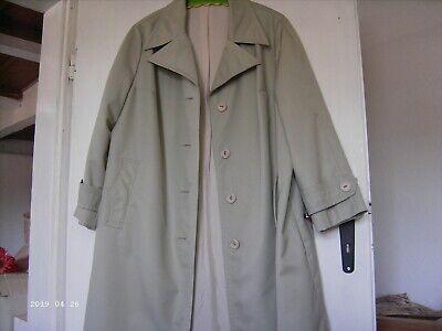 Alter Damen Mantel Sommer Vintage Original 50er 60er Ddr, Beige,größe M50