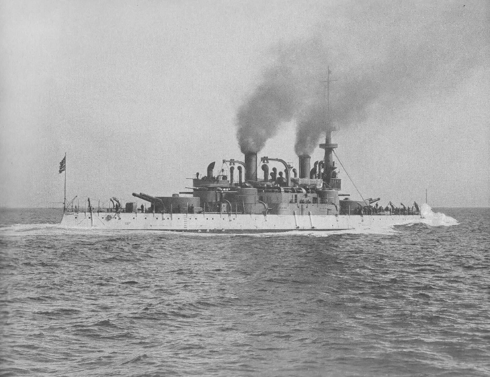 Uss Massachusetts bb2, bb2, bb2, navire de guerre des Indiana classe, us navy e39606