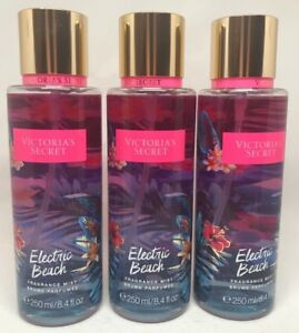 60399a74c 3 Victoria s Secret Fragrance Perfume Mist For Women Electric Beach ...