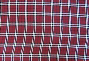 Tartan-Burnberry-150 cm fabric FREE P /& P