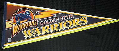 Sports Mem, Cards & Fan Shop Vintage Nba Basketball Licensed Golden State Warriors Pennant New 12x29 Lot 50 Aromatic Character And Agreeable Taste