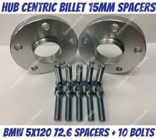 Los pernos Extendido BIMECC B Aleación Rueda Espaciadores 10mm BMW 1 2 3 4 5 serie M14X1.25