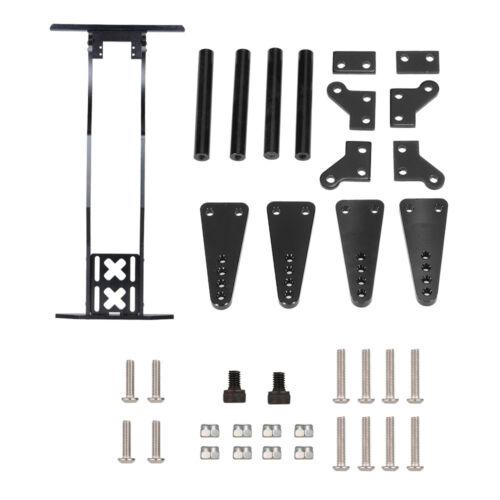 RC Crawler Metal Frame Girder for 1//10 Axial SCX10 RC4WD D90 JK Wrangler A2B7