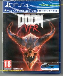DOOM-VFR-PS-VR-richiesta-034-NUOVO-amp-Sealed-039-PS4-quattro