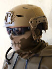 Mil-Spec Monkey MSM Skull Mask Brown Face/Head Wrap Multi-Purpose DEVGRU USMC