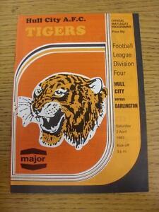 02-04-1983-Hull-City-v-Darlington-No-Apparent-Faults