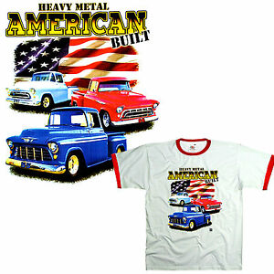 avec-licence-CHEVY-CHEVROLET-CAMION-Pick-Up-Van-Tee-shirt-0181