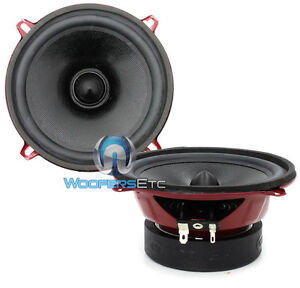 "CDT AUDIO CL-5E CLASSIC 5.25"" MID RANGE 4 OHM CAR DRIVERS MIDS SPEAKERS PAIR NEW"
