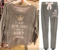 Primark Ladies Disney I Am 99% Sure I Am A Disney Princess Loungewear Pyjamas