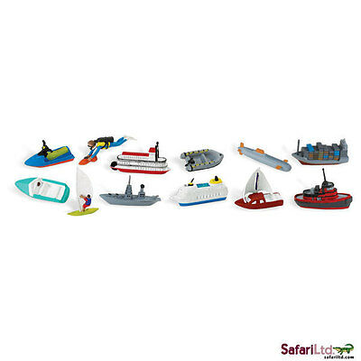 Strong-Willed In The Water Toob Playset/682804/boat/ship/toy/battleship/jet Ski Quality First Animals & Nature