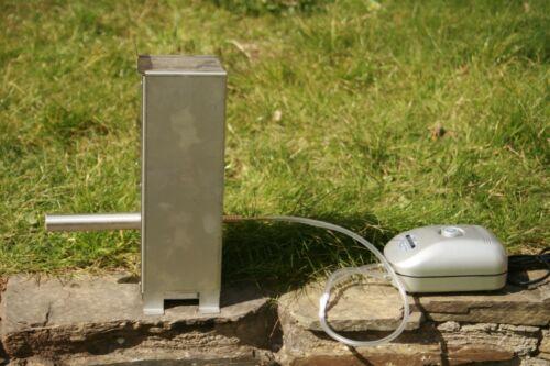 Cold SMOKE GENERATOR FOR FOOD Smoker ou un barbecue Smoking