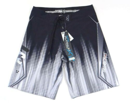 Billabong Platinum Quad Stretch Black Boardshorts Board Shorts Men/'s NWT
