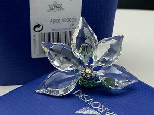Swarovski-Figurine-1142858-Scs-Orchid-5-Cm-Boxed-amp-Zertifikat-Pot-Condition