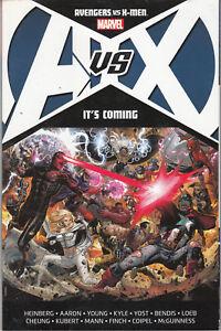 A-VS-X-Avengers-Vs-X-Men-It-039-s-Coming-1-TPB-MARVEL-Comics