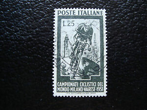 Italy-Stamp-Yvert-and-Tellier-N-607-Obl-A12-Stamp-Italy-A