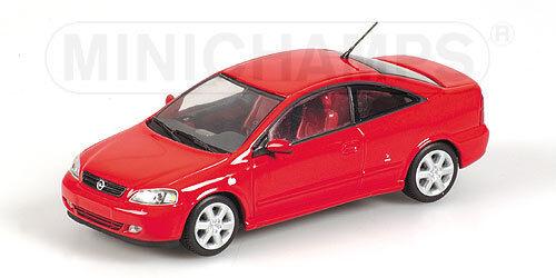 Opel Coupe' 2000 rojo 1 43 430049125 Minichamps