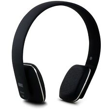 August EP636 Bluetooth Wireless Stereo NFC Headphones with Microphone - Black