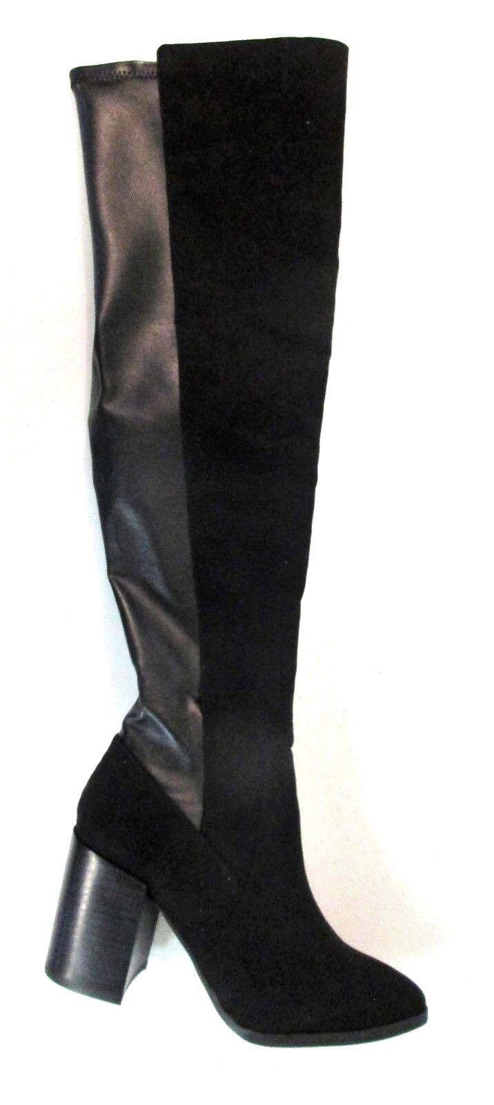 Report Jetsan Tall Shaft Women's Over Knee Engineer Boots 6 M 5499