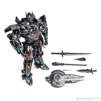 Transformers Unique Toys UT R-02B Optimus Prime Commander Challenger Black !