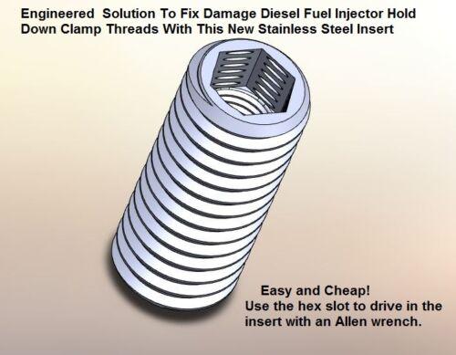 SPRINTER  SET SCREW THREAD REPAIR HEX INSERT KIT for 3 diesel injectors