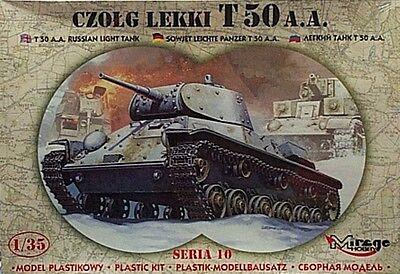 Mirage 1/35 T50 A A Russian Light Tank CZOLG LEKKI 35106