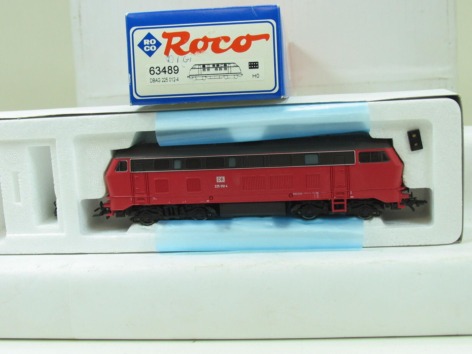 Roco h0 63489 Digital Diesellok 225 012-4 the DB b351
