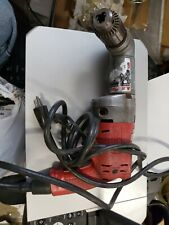 Milwaukee 0224 1 Magnum Holeshooter Corded Drill With 12 Right Angle Attachment