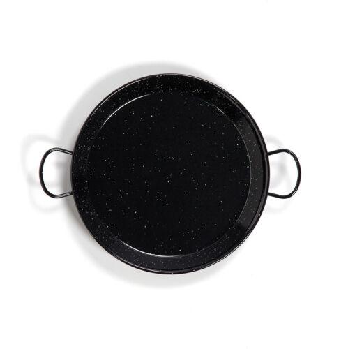 42CM ENAMELLED STEEL PAELLA PAN