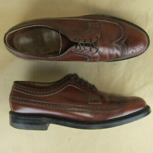 Executive-Imperial-Long-Wing-Wing-Tip-525-Pebbled-Oxford-Conac-Leather