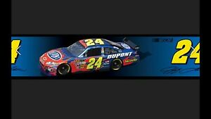 Image Is Loading Racing Room Jeff Gordon 24 Wallpaper Decal BORDER