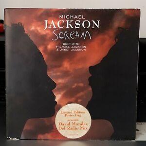 MICHAEL-amp-JANET-JACKSON-SCREAM-45-EPI-7-HOLLAND-LTD-EDITION-WITH-POSTER