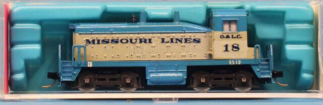 Rivarossi 1:160 N Scale EMD SW-1500 Diesel Loco Cow #18 Engien Train #9289U
