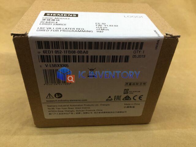 1pc Siemens Logic Controller Logo 230rce 6ed1052-1fb08-0ba0 for sale online