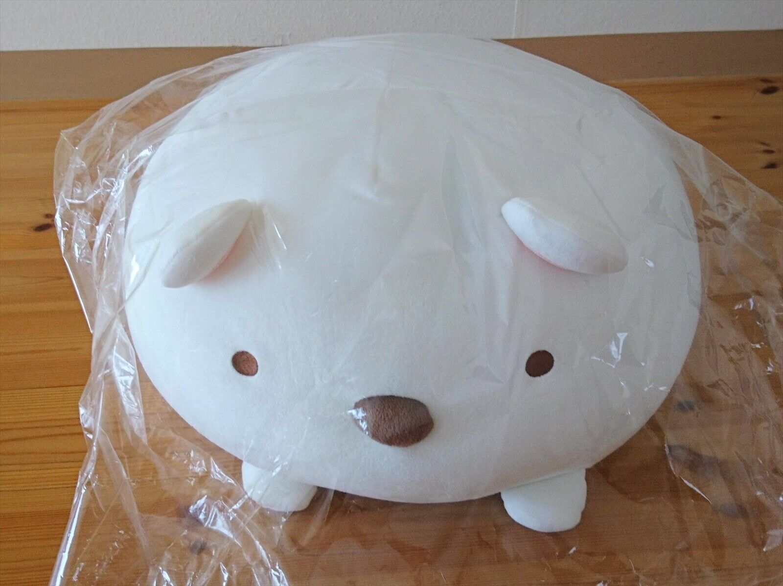 Neu San-x Sumikko Gurashi Super Squishy Plüsch Daifuku Kissen Eisbär MR78001