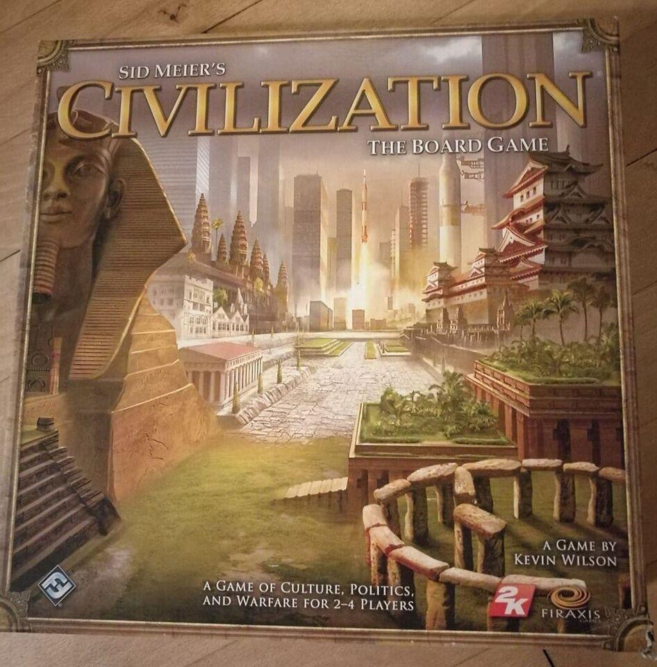 Civilization, Strategi, brætspil